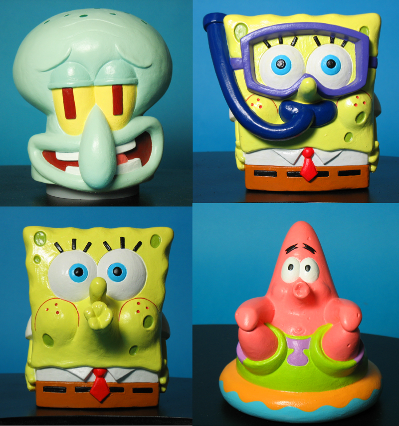 SpongeBob Squarepants Pool Toys