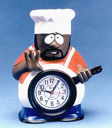 chef clock playmates toys