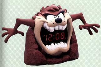 Taz Clock from westclox