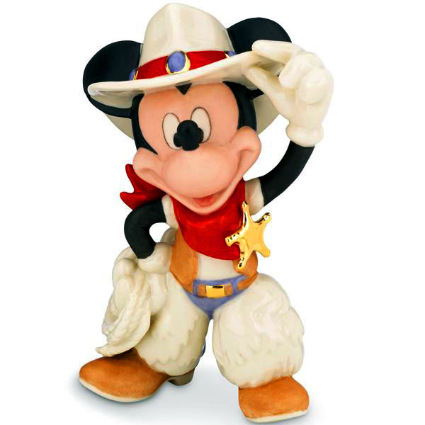 Lenox ceramics Cowboy Mickey Mouse fine china