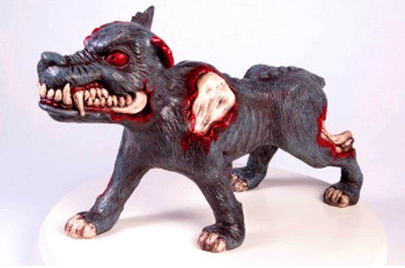 the Zombie Dog - Halloween Decor for Rubies/Forum