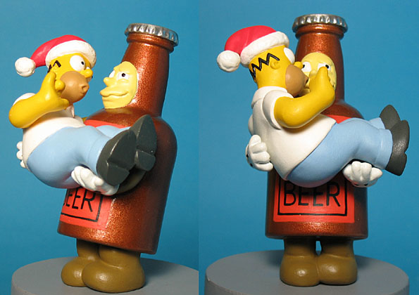 Homer Simpson Duff Beer American Greetings Christmas Tree ornament