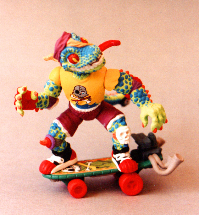 gecko turtles figure