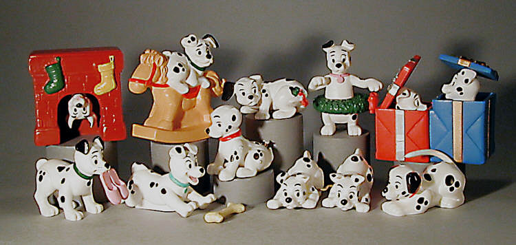 101 Dalmations for McDonalds Happy Meals