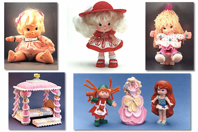 Various Dolls - Various Clients