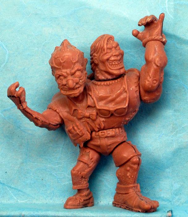 Head Banger wax for Playmate Toxic Crusader
