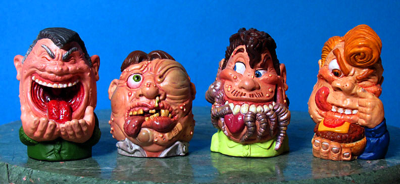 yuk heads for Galoob-gross and grody