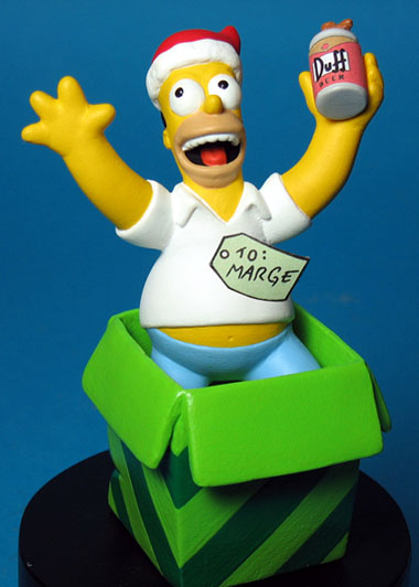 Homer as a gift to Marge