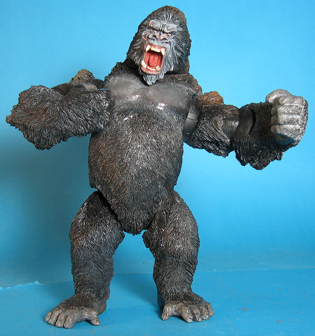 Large Ape, King Kong Playmates toyss