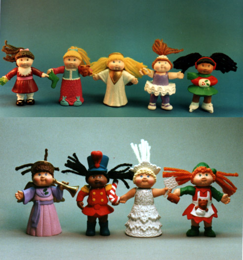 Happy Meal Cabbage patch kids for McDonalds
