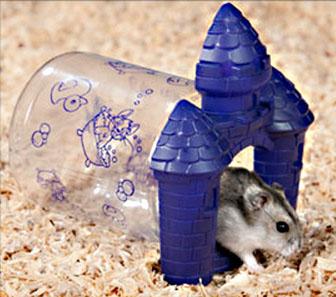 the Lizit hamster castle