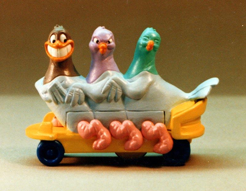 Lucky Pidgens animanics Happy Meal Happy Meal toys