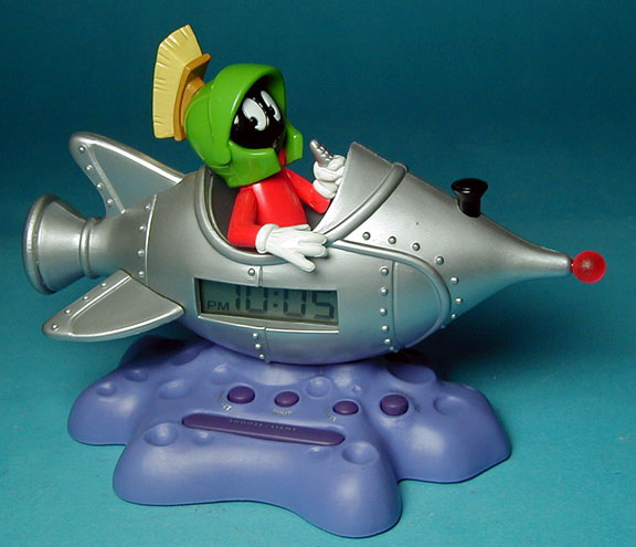 Marvin the Martian clock from Westclox