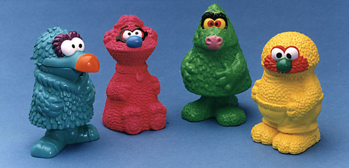 McDonalds Muppets Happy Meal - the mouths open