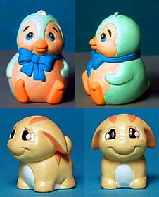 "Neopets for Tiger Hasbro 3/4"" tall"