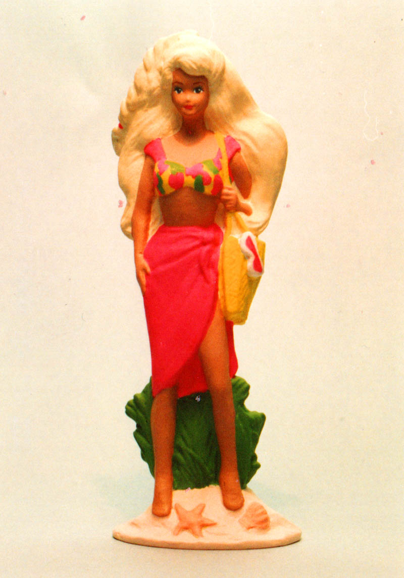 Barbie 4 inch tall vinyl figure