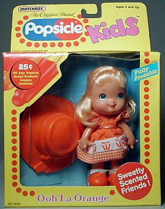 Ooh La Orange Popsicle Kids for Matchbox