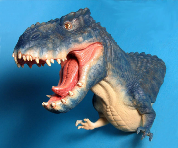 T-rex from King Kong hand puppet - never produced
