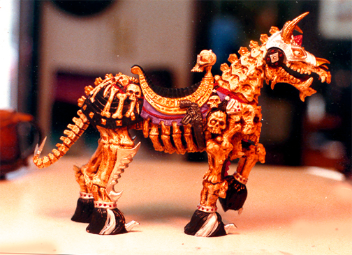 Skeleton Warriors Horse - Playmates toys