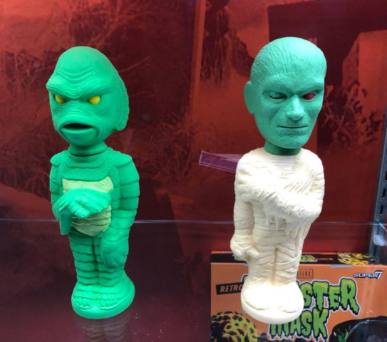 Creature from the Black Lagoon & Mummy Soakys - Super 7