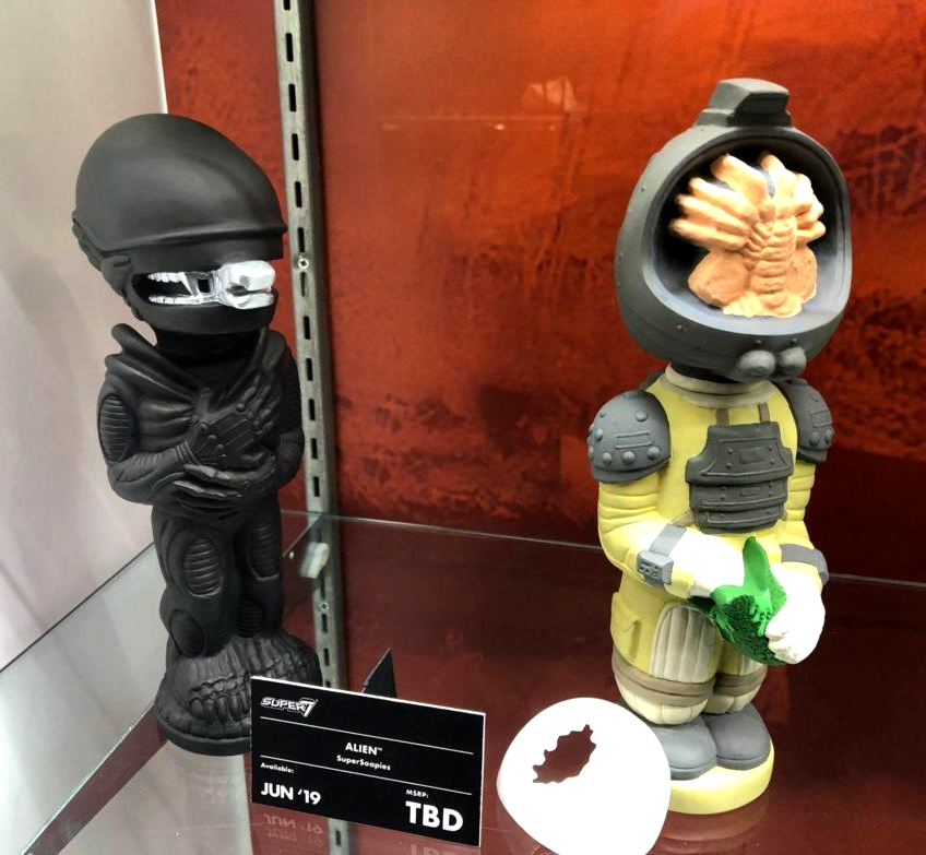 Alien & Kane Soakys for Super 7 ToyFair