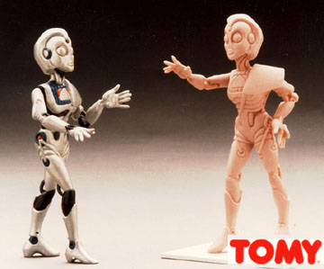 partof a boys toy figure line proposal for Tomy Toys,  never produced