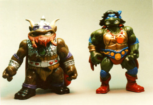 TMNT Turok and Middle earth figures playmates toys
