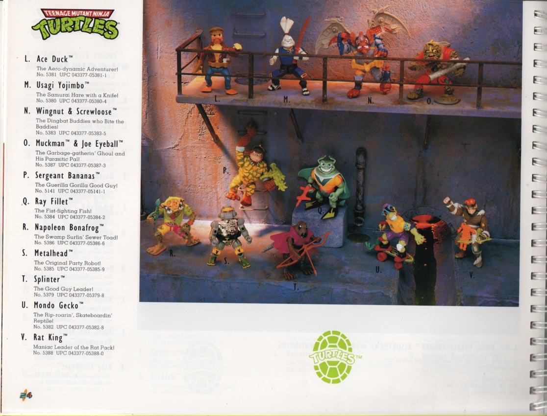 Playmates Toys Teenage Mutant Ninja Turtles 1993