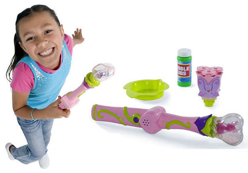 Cranium bubble wand with lights and sounds and bubbles