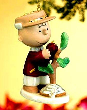 Charlie Brown and his Christmas tree
