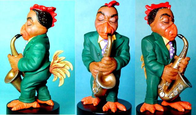Bird, saxman  for the Big Band Jazz Allstars