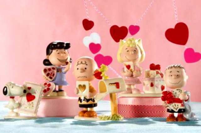 Valentines Day Peanuts Gang