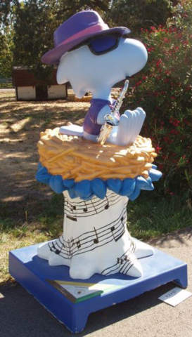 Woodstock a blues bro - installation