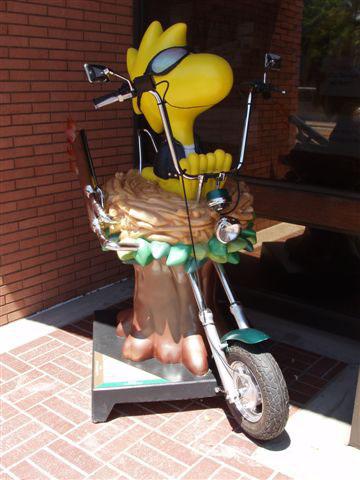 Biker Woodstock - installation