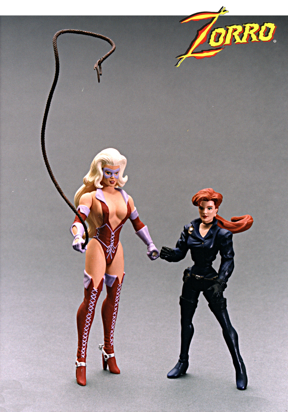 The tall girl was for year two of Zorro from Playmates but never produced