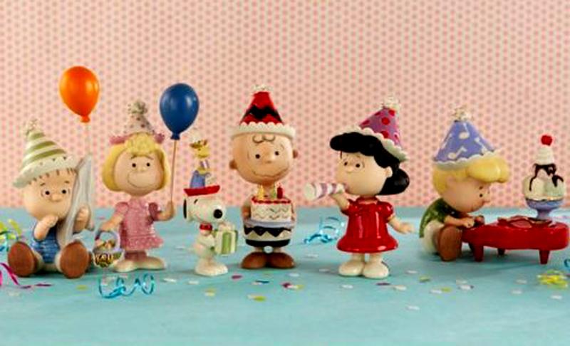 fine china Peanuts gang for Lenox