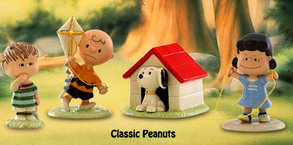 the Peanuts gang as they looked years ago