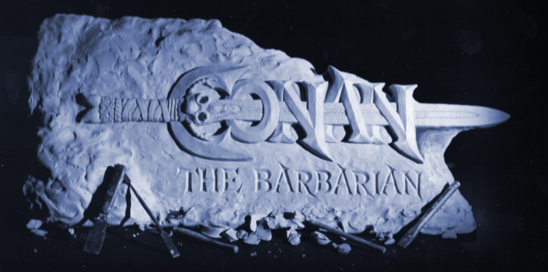 Conan the Barbarian text - promotional