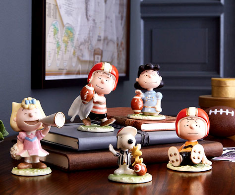 football peanuts - Lenox fine china