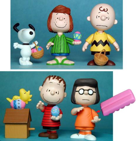 Easter Peanuts Figures