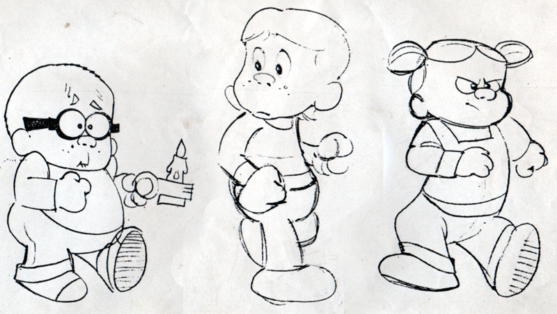haunted kids drawing - Tomy Toys