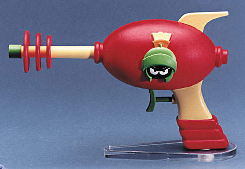 Warner Bros Studio Store Marvin the Martian Space Pistol squirt gun  never produced