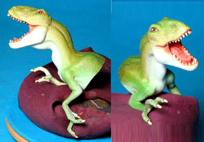 raptor finger puppet never produced