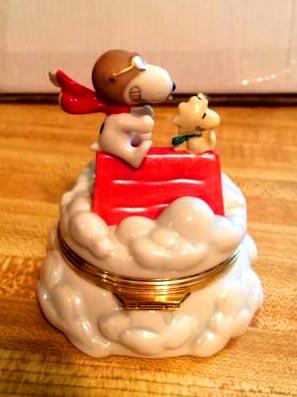 red baron lenox jewelry box