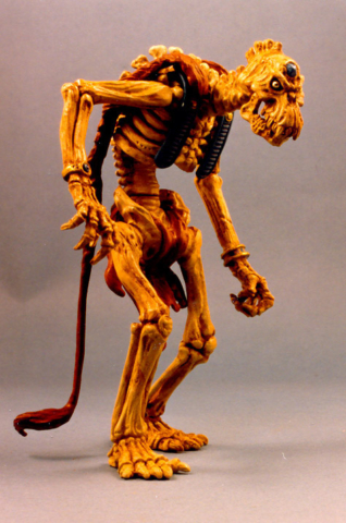 First Skeleton Warrior for year two of Skeleton Warriors from Playmates   never produced