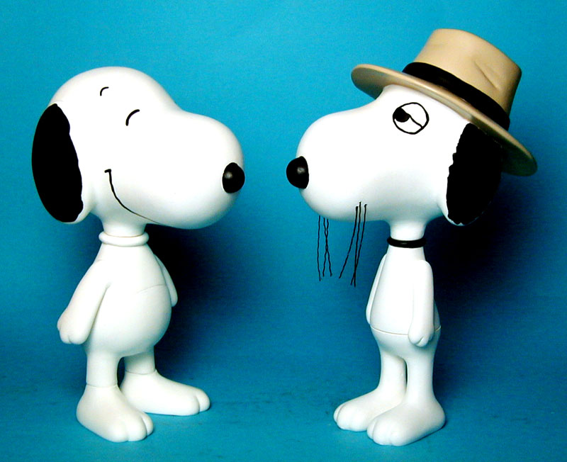Spike and Snoopy