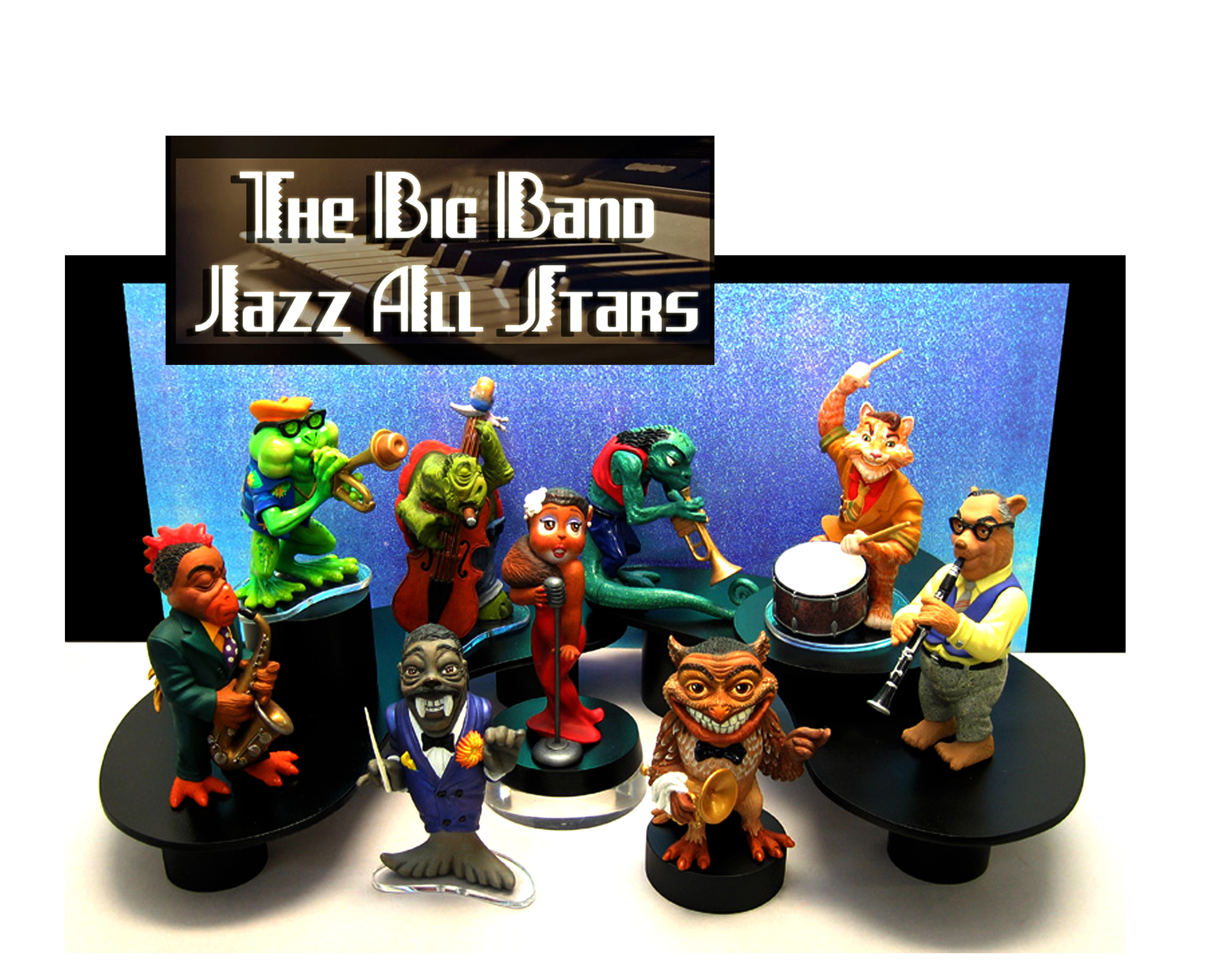 the Big Band Jazz Allstars original Studio designs, never produced