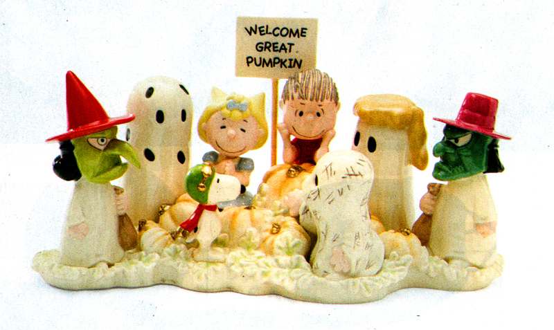 welcome great pumpkin - production - fine china